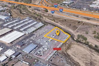 8101 E 40th Ave - Aerial Map